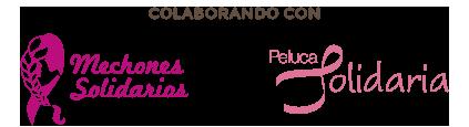colaboraciones logos de mechones solidarios y peluca solidaria