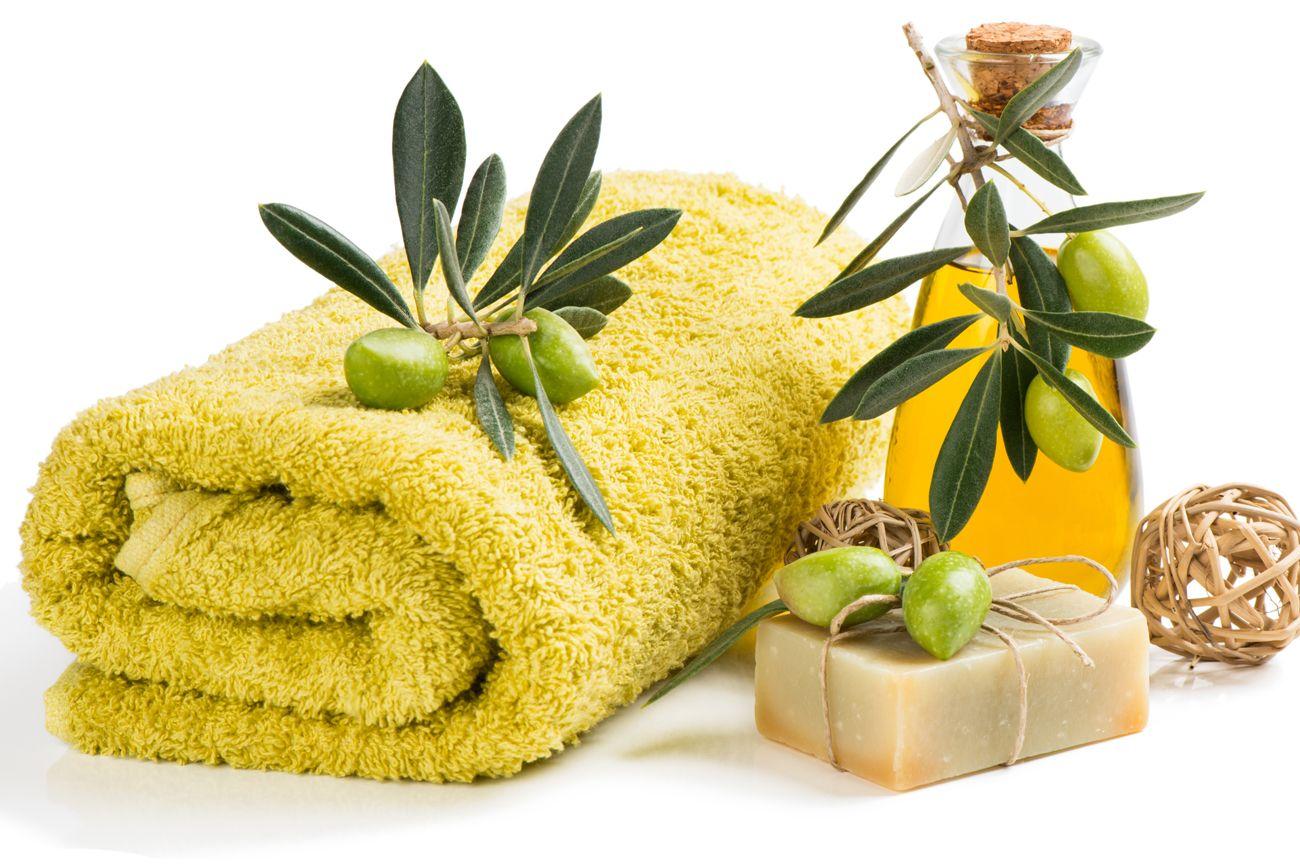 imagen de aceite de oliva para aromaterapia