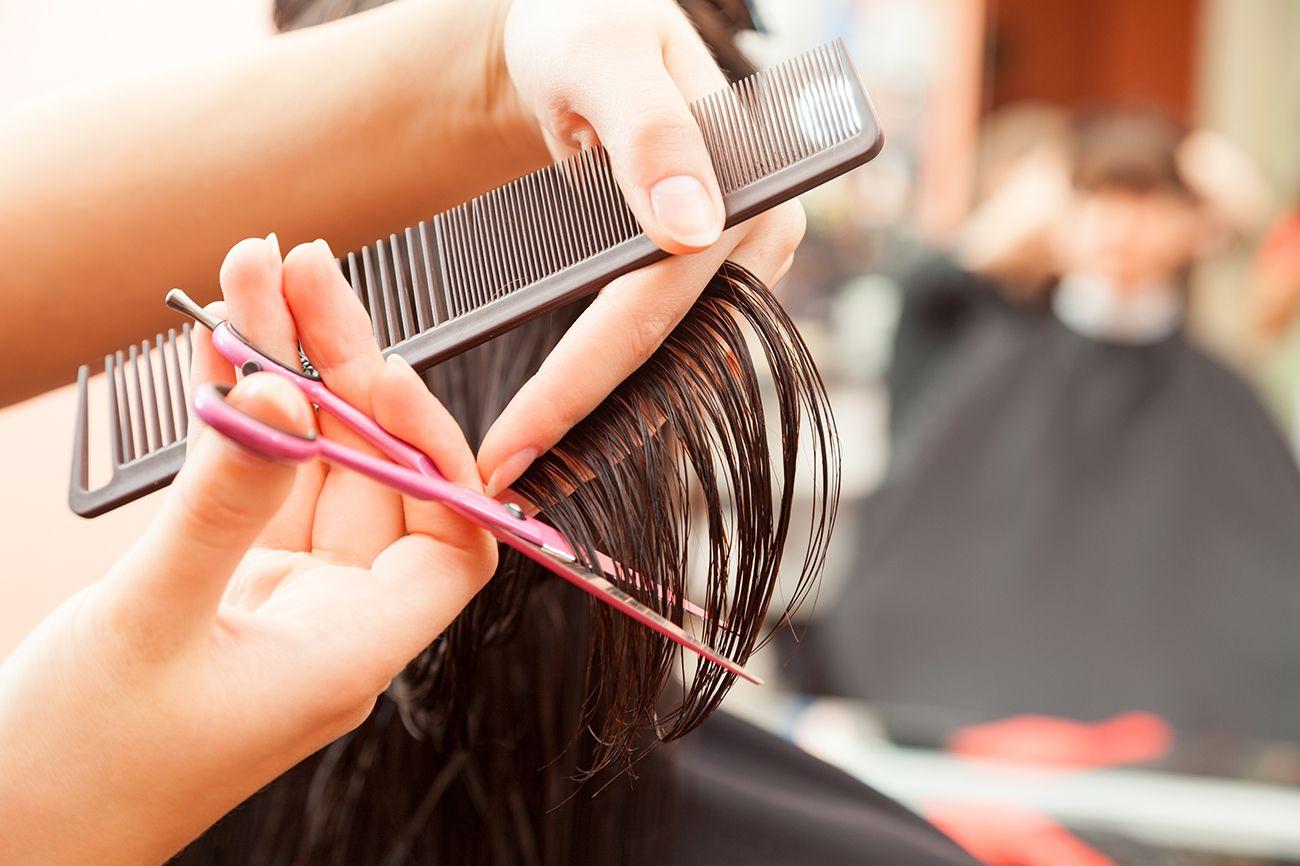 corte mujer peluquería ecológica Valderrós